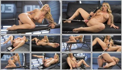 FuckingMachines.com [Hard Bodied Blonde MILF has Earth Shattering Orgasm from the Machines] HD, 720p