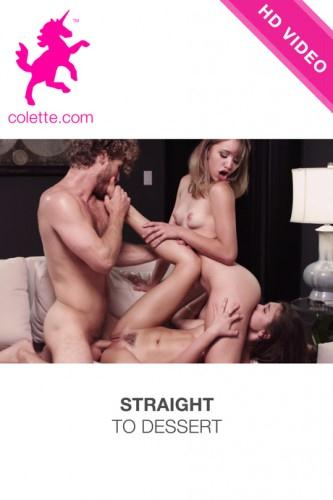 Colette.com - Straight To Dessert (Group sex) [SD, 544p]