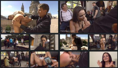 Teen Exposed and Fucked in Public [SD, 540p] [Publ1cD1sgr4c3.com] - BDSM