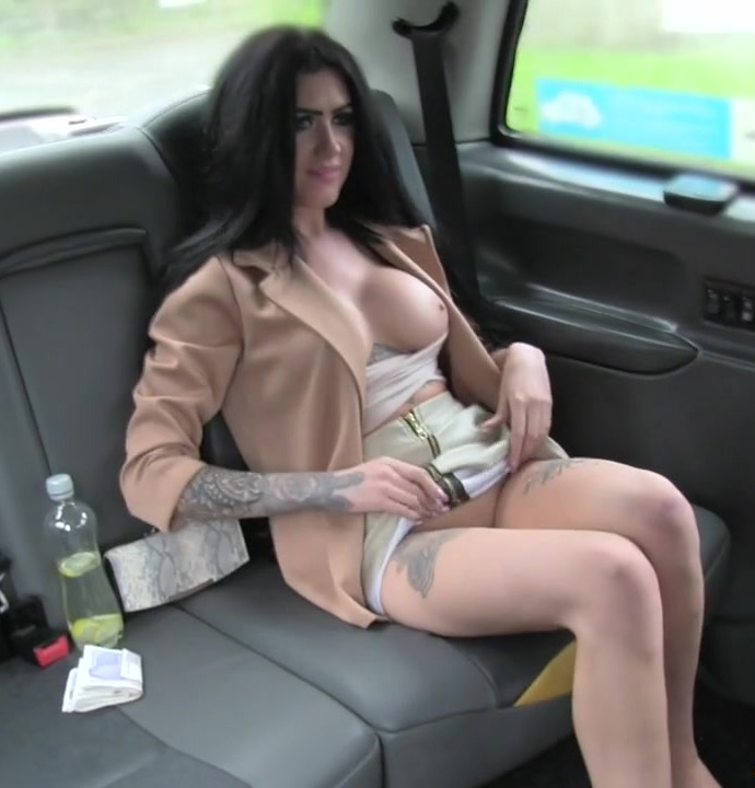 FakeTaxi - Emma Louise - Cute Brunette Rides Cock for Cash [HD 720p]