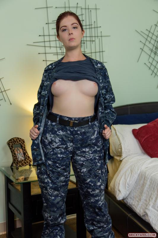 Navy Girl in Uniform Reports for Military Anal Sex - Janice Taddy, Preston Phillips [BrickYates/1080p]