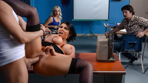Romi Rain (Sex with Titted Teacher / 16.06.16) [Brazzers / SD]