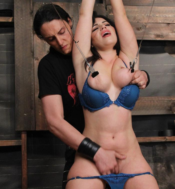 SocietySM, DungeonCorp: Belle Noire - Working her Submission  [HD 720p]  (Bondage)