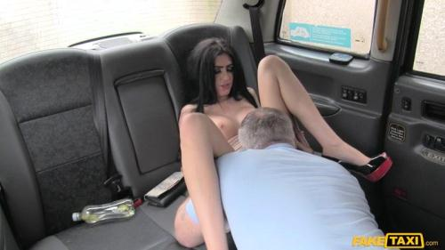 F4k3Hub.com [Cute Brunette Rides Cock for Cash] SD, 480p