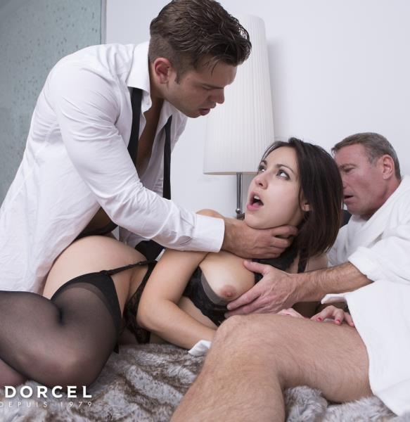 DorcelClub - Ines Lenvin - Luxure - Ines Lenvin, Sodomized In Front Of Her Husband [FullHD 1080p]