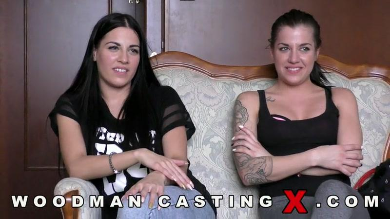 Dellai Twins (Eveline Dellai, Silvia Dellai) Casting X 155 (Anal, DP, Group sex / 06.03.16) [WoodmanCastingX / SD]