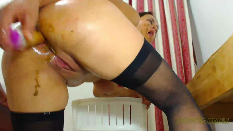 Super Dirty Ass Fuckin - EXTREME Masturbation (SCAT / 28 June 2016) [FullHD]
