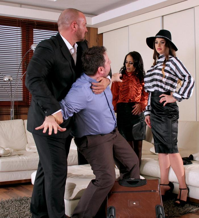SinDrive: Cathy Heaven, Nomi Melone  - Mobsters, Cash and Pervy Payback: Vengeful and Big Titty Godmother Goes Insane For A Fist Fuck Outburst Of Fury  [HD 720p]  (Lesbians)