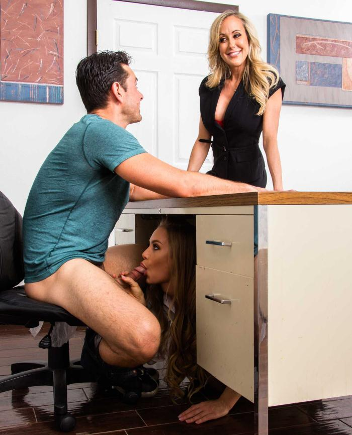 First Teacher - Brandi Love, Nicole Aniston - Threesome BGG  [HD 720p]