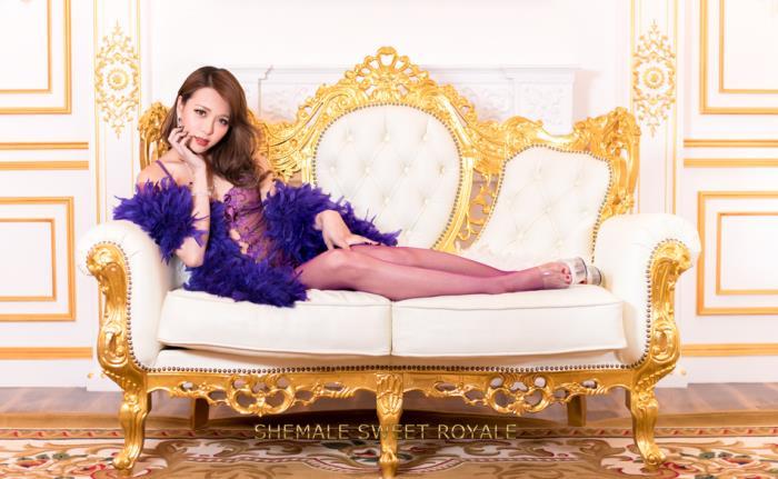 Heydouga: MEGUMI - Shemale Sweet Royale Megumi [FullHD 1080p]