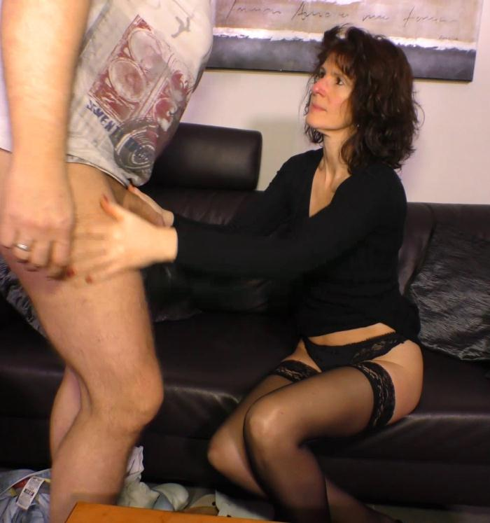 Porn Omas - Elke S, Torsten S. - German porn with mature brunette hoe Elke S.  [SD 480p]