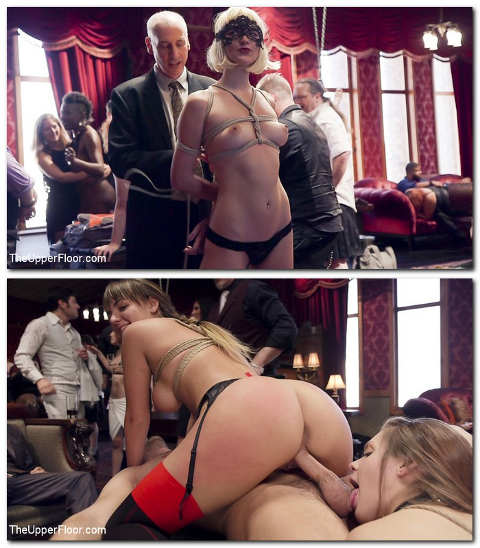 TheupperFloor/Kink - Nora Riley, Charlotte Cross - Innocent Girl Made Depraved Anal Slave [SD 540p]
