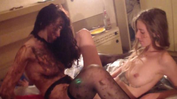 Sc4t Sh0p - Matilda and Leona - Filthy Scat Threesome. part 5 (FullHD 1080p)
