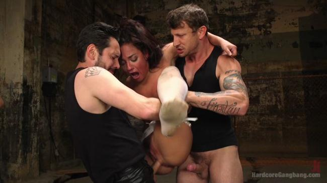 Amara Romani - Hardcore Gang Bang HD 720p