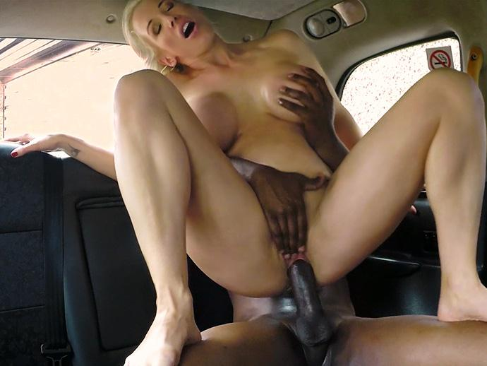 F4k3Hub.com - Rebecca Moore - Busty Blonde Creampied by Criminal (Interracial) [SD, 480p]