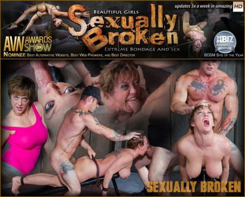 SexuallyBroken.com [TheLegendary Dee Williams Epically Dicked Down With Multiple Orgasms!] HD, 720p