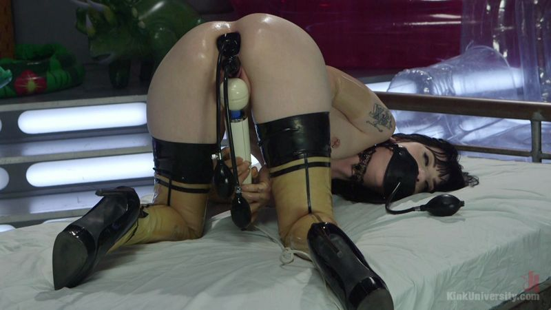 Charlotte Sartre and Danarama - Inflatable Dildos (BDSM / 2016) [HD]