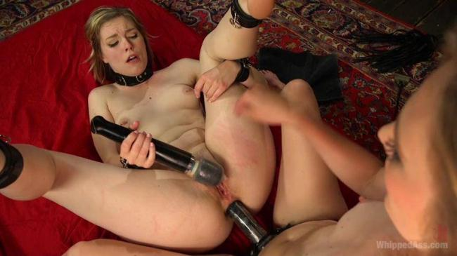 Mona Wales has her way with submissive anal slut Ella Nova! (Wh1pp3d4ss) HD 720p