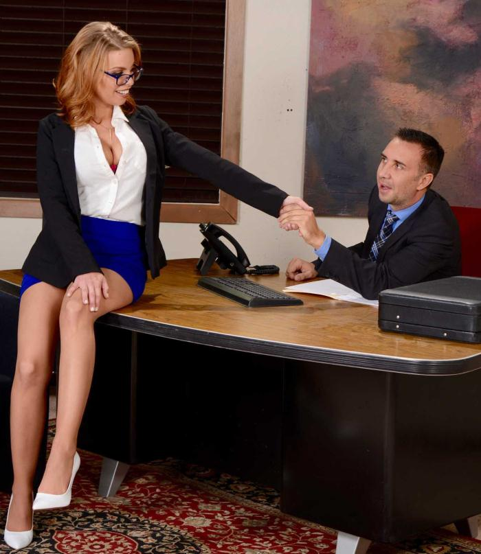 Brazzers: Britney Amber - The Interview: Round 2  [HD 720p]  (Double Penetration)