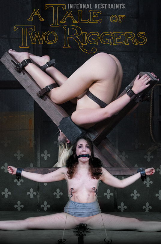 InfernalRestraints: Endza Adair, Goldie Rush - A Tale of Two Riggers  [HD 720p]  (Bondage, BDSM)
