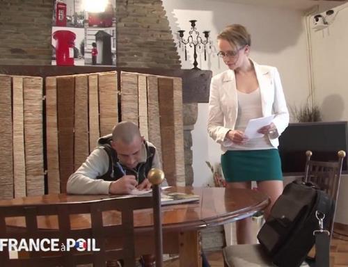Angie - Prof a domicile, Angie en profite pour baiser un coup (2014/HD)
