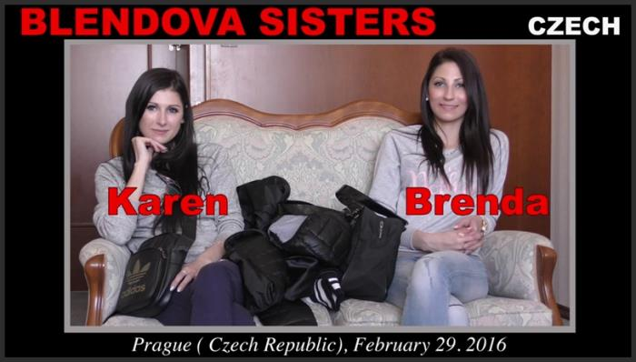 (WoodmanCastingX.com) Blendova Sisters - Casting Hard, 06.07.2016 (SD/540p/1.18 GB/2016)