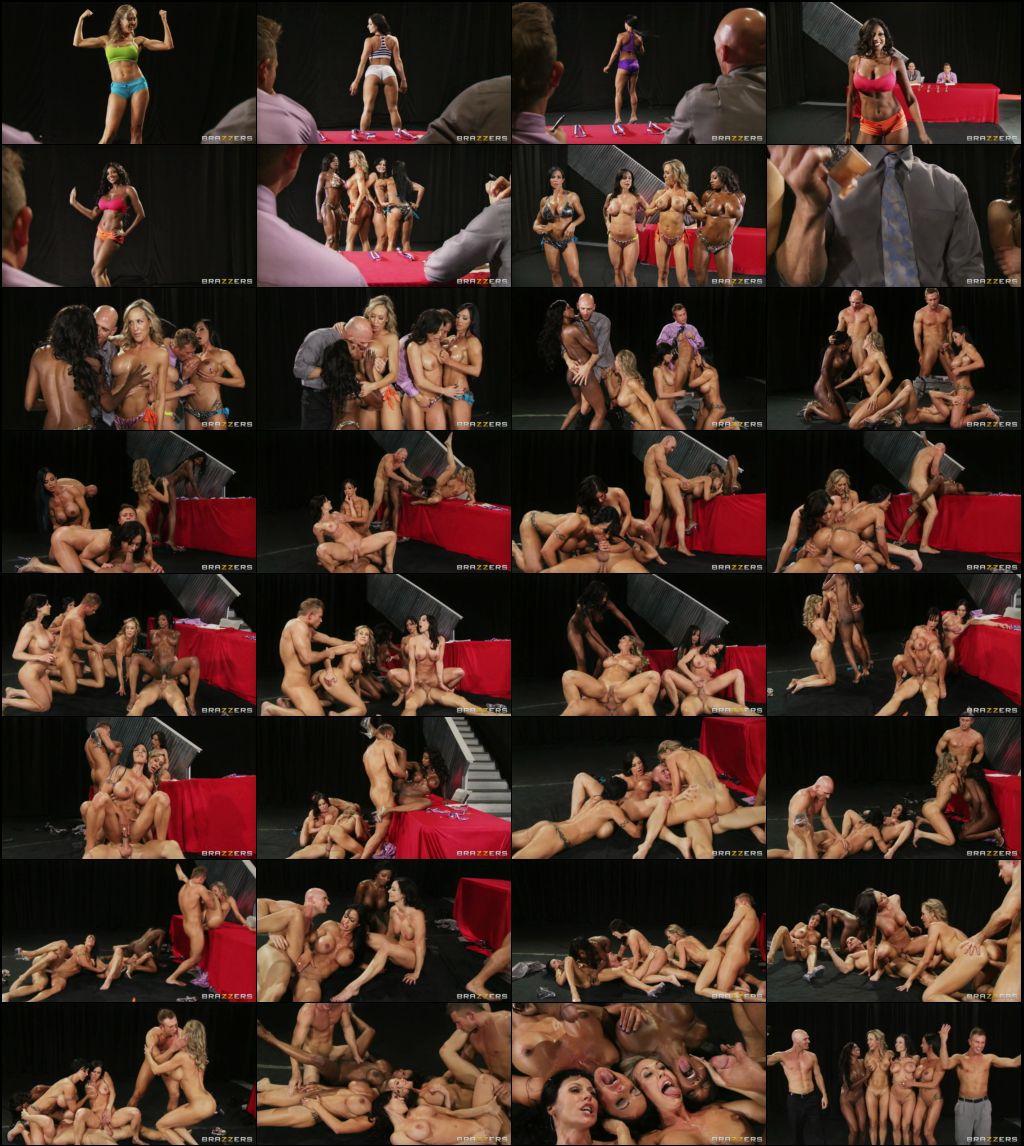 Brandi Love,Diamond Jackson,Jewels Jade,Kendra Lust - Miss Titness America  (2012/BigButtsLikeItBig, Brazzers/SD/480p)