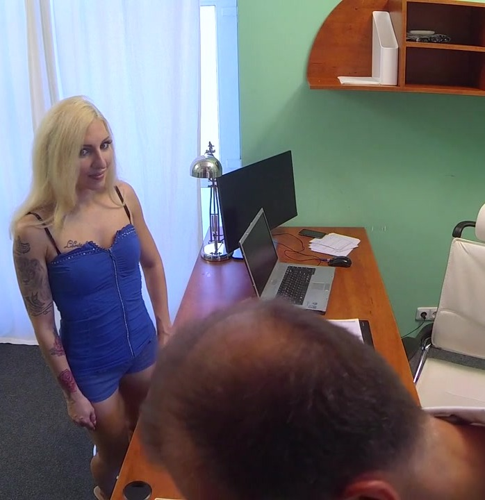 Hospital - Peter, Vanessa Sweet - Tattooed Blonde Loves Doctors Dick  [HD 720p]