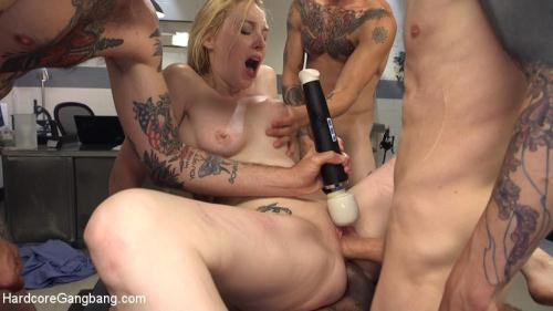 Deliriously Gangbanged [SD, 540p] [H4rdc0r3G4ngB4ng.com] - BDSM