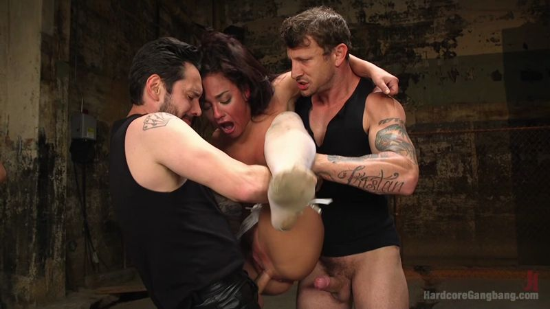 Amara Romani - Hardcore Gang Bang (BDSM / 2016) [HD]