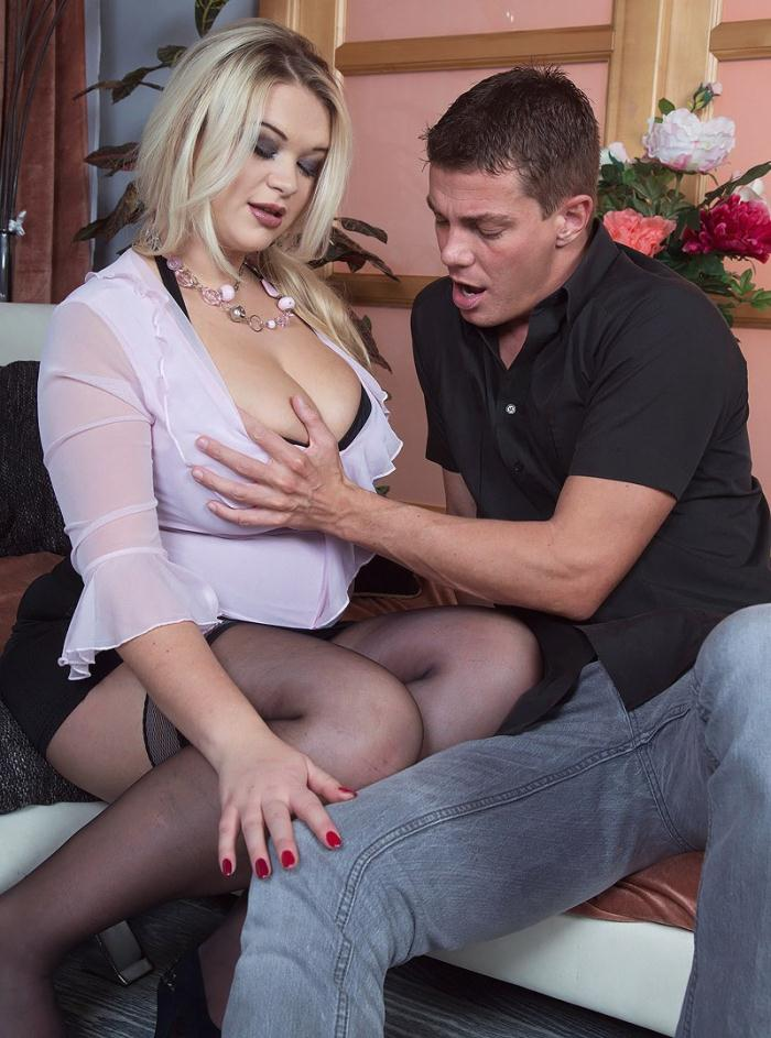 Scoreland/PornMegaLoad: Katrin - Busty Blonde Likes To Be Watched  [FullHD 1080p]  (Big Tits)