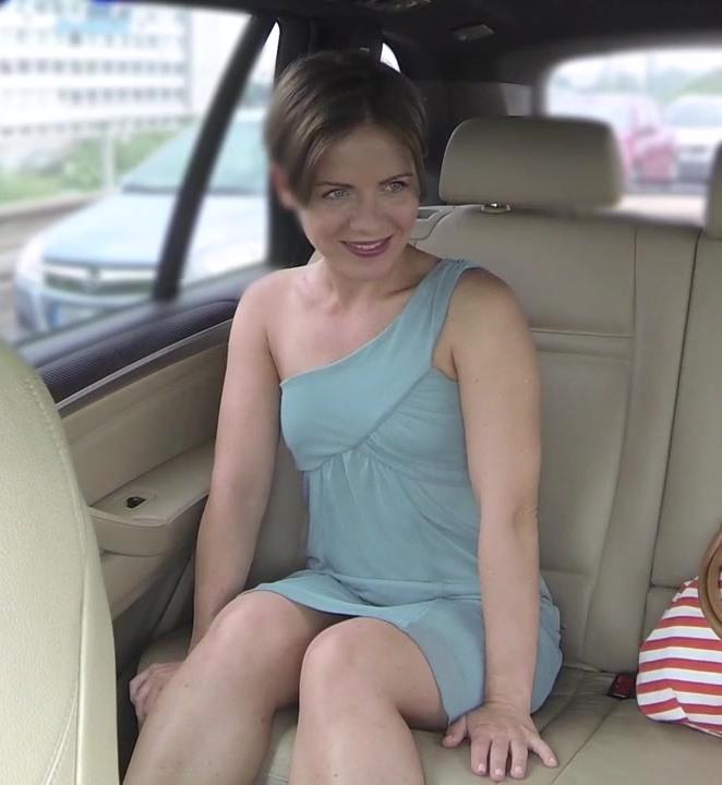 FakeTaxi: Sasha - Passenger Rides Her Biggest Cock  [HD 720p]  (Public)