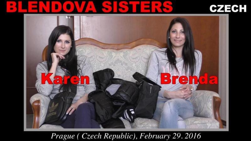 Blendova Sisters - Karen (aka. Cindy Sweet, Sandra) Brenda (aka. Anna, Brenda Blendova, Maria, Nicole Sweet) (28.04.16) [WoodmanCastingX / SD]