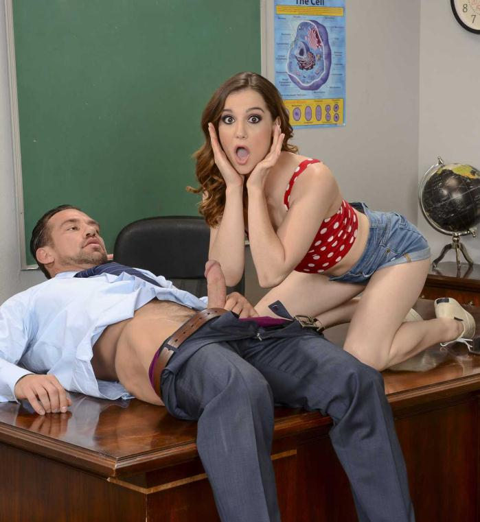 Naughtyamerica: Kasey Warner - Small Natural Tits  [HD 720p]