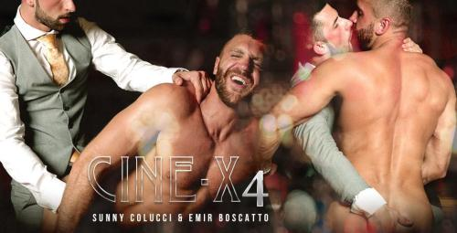 Sunny Colucci, Emir Boscatto - Cine-X 4 [FullHD, 1080p] [MenAtPlay.com] - Gay