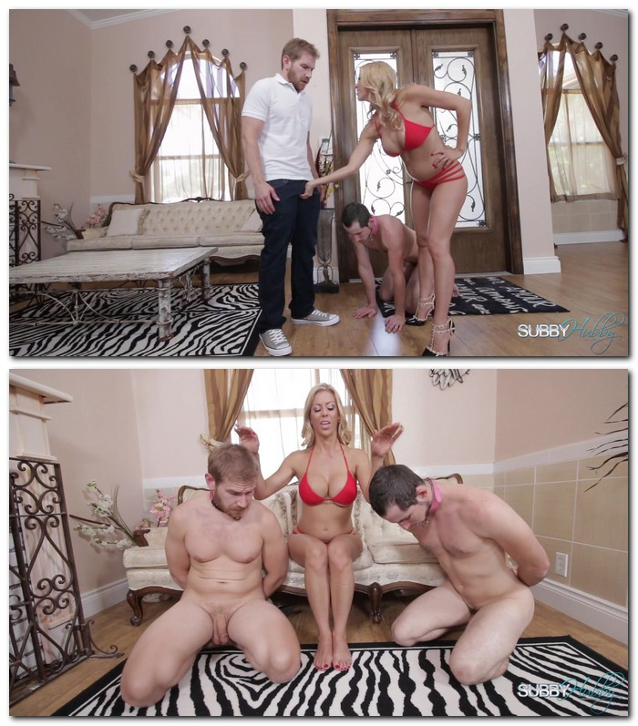 SubbyHubby: Alexis Fawx - Rich Cuckold Husband 2: Foot Competition  [FullHD 1080p]  (Femdom)
