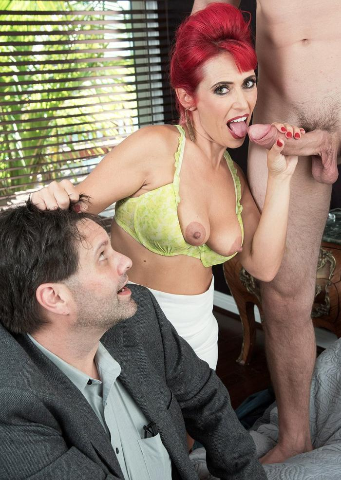 Pornmegaload: Nola Rouge - Cuckold and a creampie  [FullHD 1080p]  (Milf)