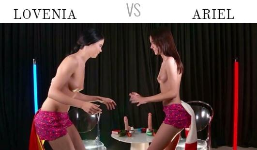 OrgasmWorldChampionship.com: Lovenia vs Ariel - Spain VS France [FullHD] (709 MB)