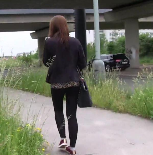 Public Casting - Tyna - Teen Pussy Almost Too Tight to Fuck [SD 480p]