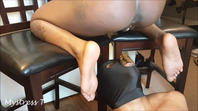 Sexy Mistress - Swallow my shit, slave - Femdom (Scat Porn) FullHD 1080p
