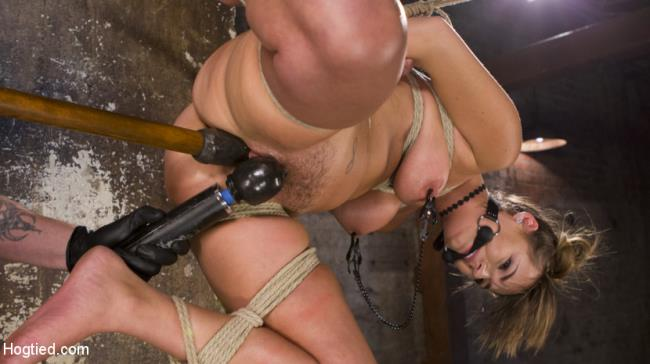 Princess Revisits Hogtied to Prove Herself to The Pope - Charlotte Cross, The Pope - HogTied.com