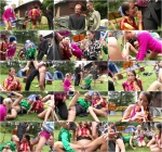 Band Camp Cuties Play The Skin Flute Unde (Goldenshowerpower) HD 720p