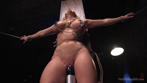 Open Throat Training Cali Carter [HD, 720p] [Th3Tr41n1ng0f0.com] - BDSM