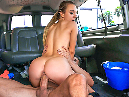 Molly Mae - Molly Mae goes all in for the team on the Bang Bus (Bus Porn) [SD 480p]