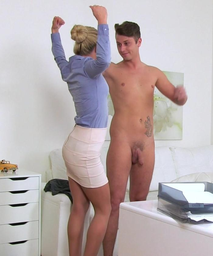 Female Casting - Cristal, Nick - Nervous Stud Seduced and Fucked  [FullHD 1080p]