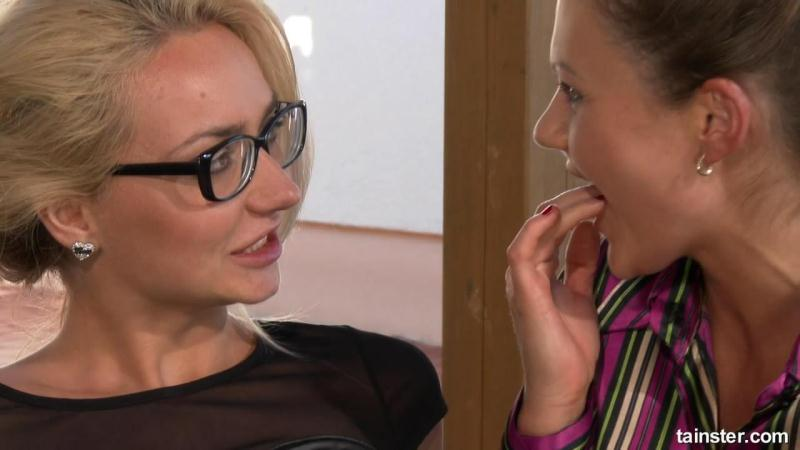 Tainster - Victoria Puppy, Tina Kay - Two Lesbians Having Fully Clothed Sex [HD 720p]