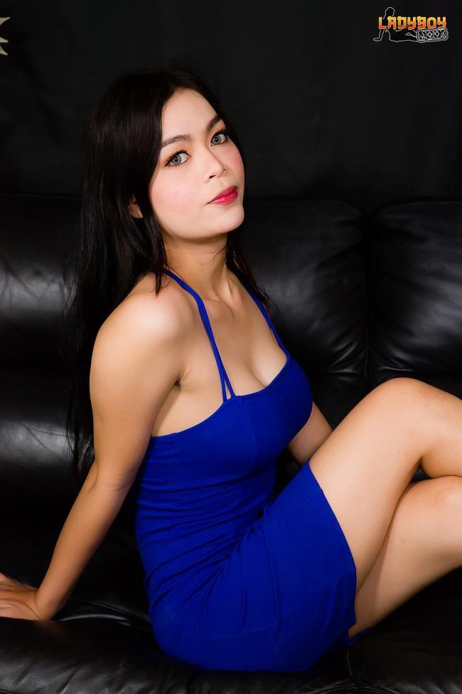 Ladyboy.xxx: Lin - Sexy Curvy Lin Struts Her Stuff! (HD/2016)
