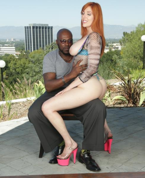 Evil Porn: Lauren Phillips, Lexington Steele - Busty Redheads Rack Sperm-Slopped (HD/2016)