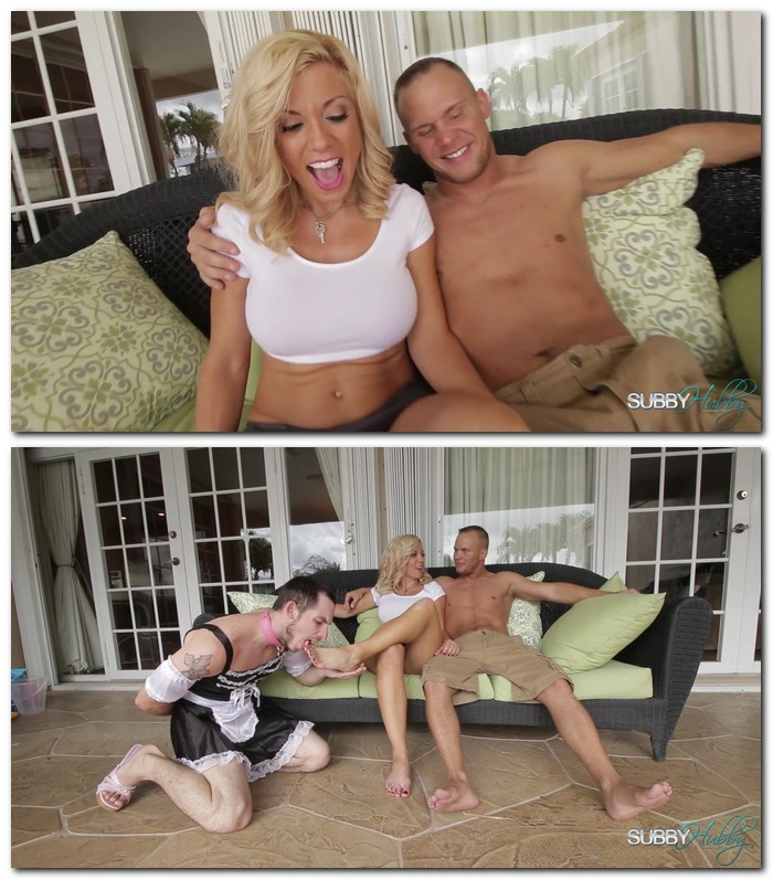 SubbyHubby: Parker Swayze - Parkers Bitch Part 4: Foot Licker  [FullHD 1080p]  (Femdom)