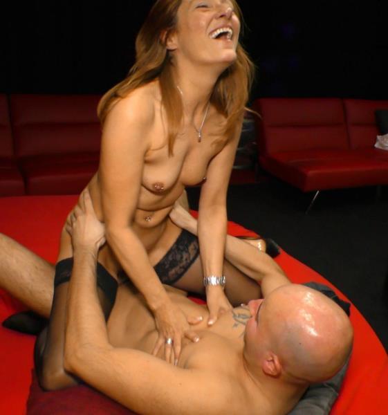 Swinger Porn: Yvonne J, Joachim J, Nils L - Hardcore European threesome porn with a poor German mum (HD/2016)